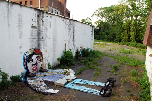 Trash Dude Beacon by Jim Darling