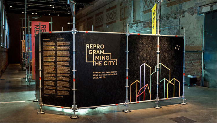 Reprogramming the City exhibition by Scott Burnham at DOGA: Design and Architecture Norway